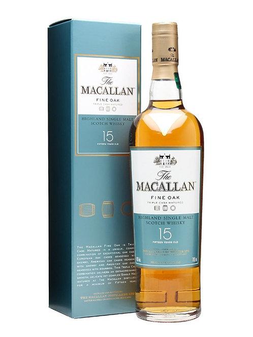 Whisky Macallan 15Yo Fine OAK 700ml