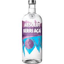 Vodka Absolut Berry Açaí 1Lt