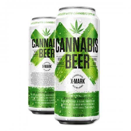 Cannabis Beer X-Mark 500ml