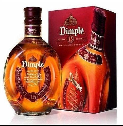 Whisky Dimple de Luxe 1 Lt