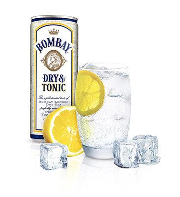 Gin Bombay & Tonic 250ml