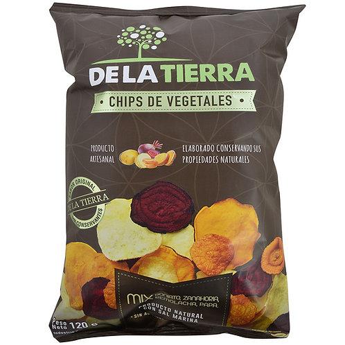 Chips de vegetais De La Tierra 120gr