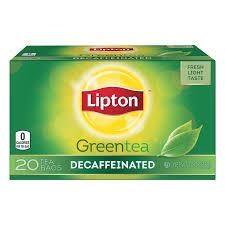 Chá Lipton Greentea Descafeinado