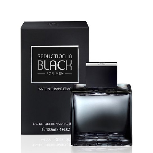 ANTONIO B SEDUCTION BLACK EDT100ML