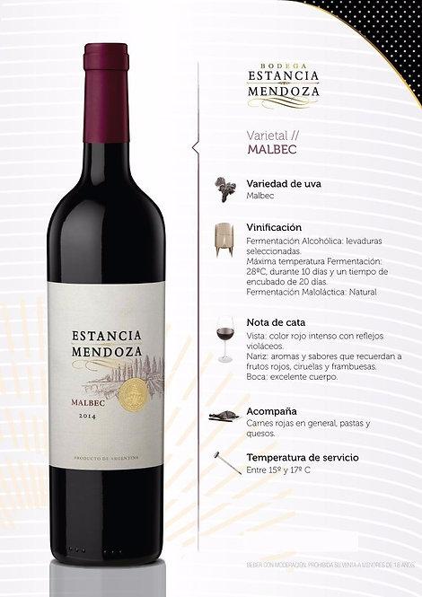 Vinho Estancia Mendoza  Malbec 750ml