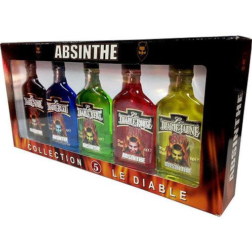 Coleção Absinthe 5 x 4ml