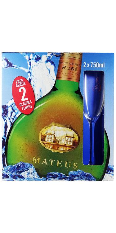 Pack vinho Mateus Rosé 2x750ml