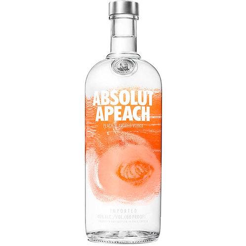 Vodka Absolut Apeach 1Lt