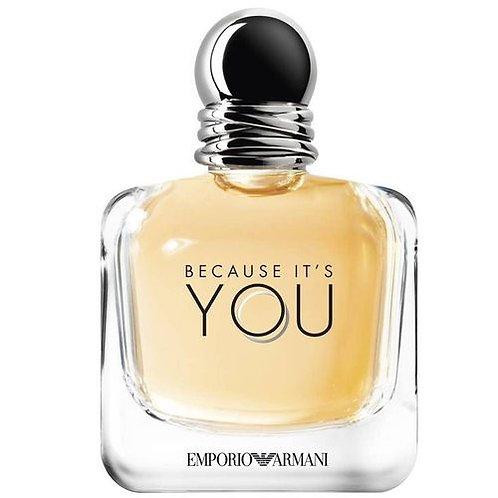 EMPORIO ARMANI BECAUSE IT'S YOU EDP 100ML