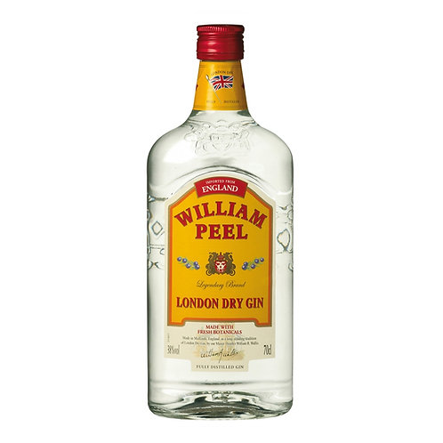Gin William Peel 38% 1Lt