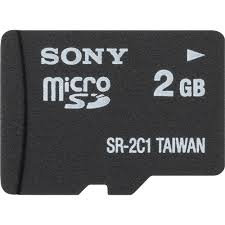 Micro Sd Sony 2Gb
