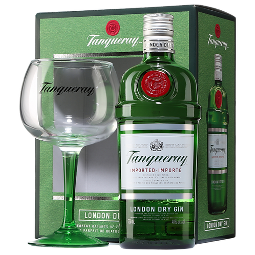 Gin Tanqueray + Glass 700ml
