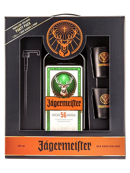 Pack Jagermeister 1750 ml