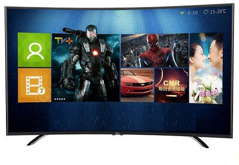 TV TCL 55´CURVO ISDB-T SMART WIFI SOM HARMANKARDON
