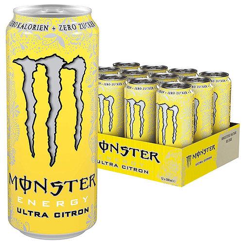Energético Monster Ultra Citron 500ml