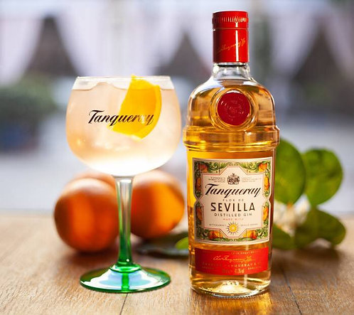 Gin Tanqueray Flor de Sevilla+ glass 700ml