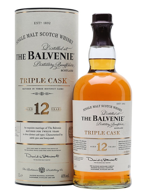The Balvenie 12 y Triple Cask 1lt