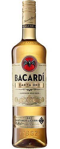 Rum Bacardi Carta Oro 1,75ml