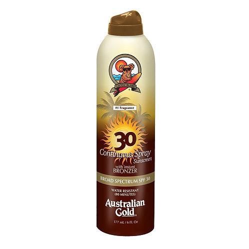 Bronzeador Spray SPF30 Australian Gold