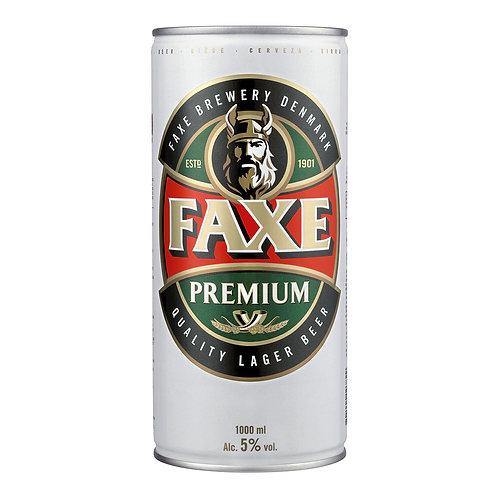 Cerveja Faxe 5% Premium 1Lt