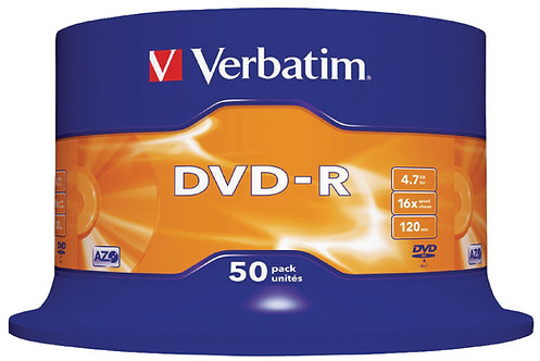 Dvd-R Verbatin Logo 4,7 Gb