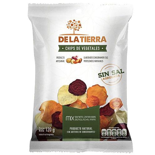 Chips De Vegetais Sem Sal 120gr