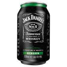Jack Daniel's  & Ginger 330ml