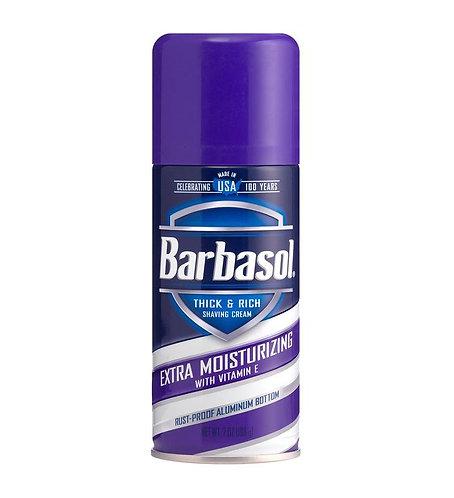 BARBASOL SHAVE CREAM EXTRA MOIST