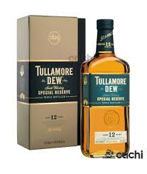 Whisky Tullamore Dew 12 Anos