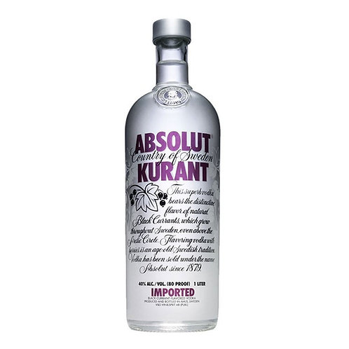Vodka Absolut Kurant 1Lt
