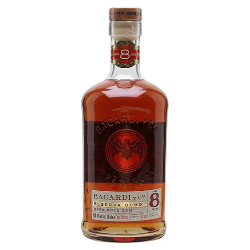 Rum Bacardi Reserva Ocho 1lt