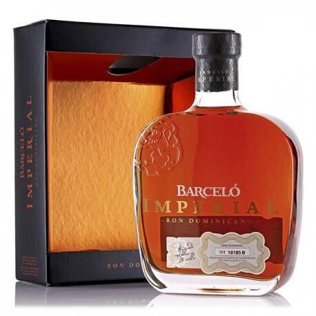 Rum Barcelo Imperial +Gb 700ml