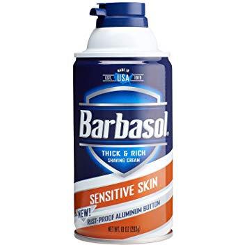 BARBASOL SHAVE CREAM SENSITIVE SKIN