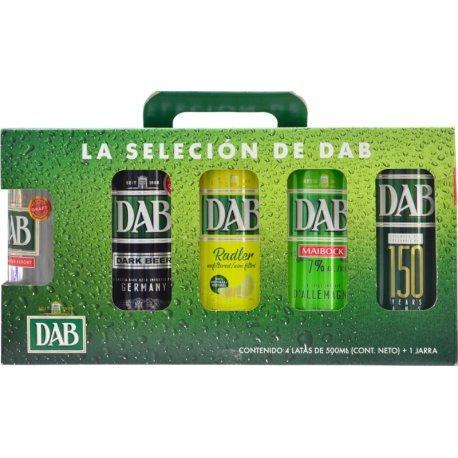 Cerveja DAB Pack de 4 Unidades + 1 Copo