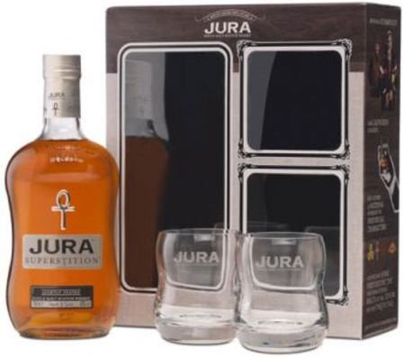 Whisky Isle Of Jura Superstition+2 Glasses