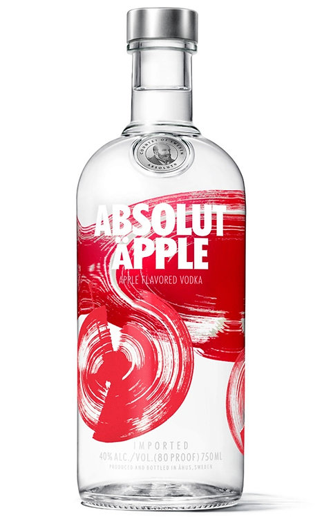 Vodka Absolut Oriental Apple 1Lt