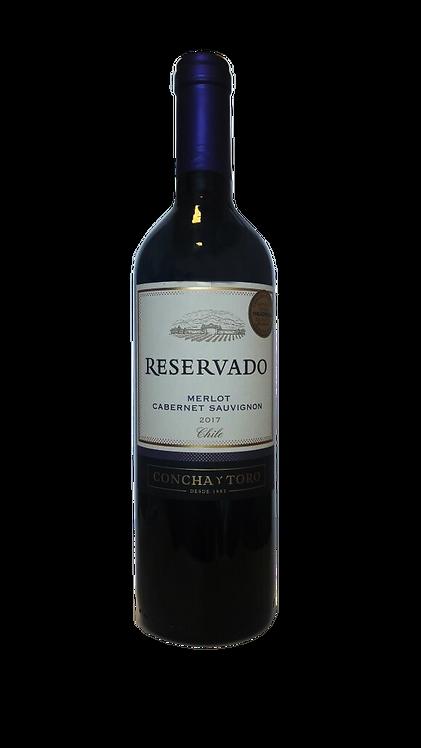 Vinho Reservado Concha Y Toro Merlot Cabernet Sauvignon 750ml