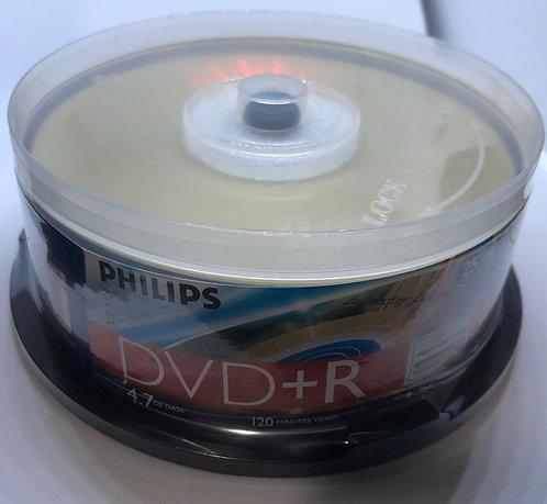 Dvd+R Philips Lightscribe 4.7