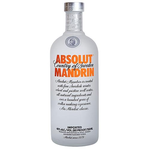 Vodka Absolut Mandrin 1Lt