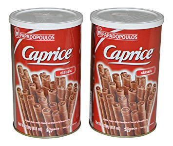 Wafer Caprice Chocolate 400gr