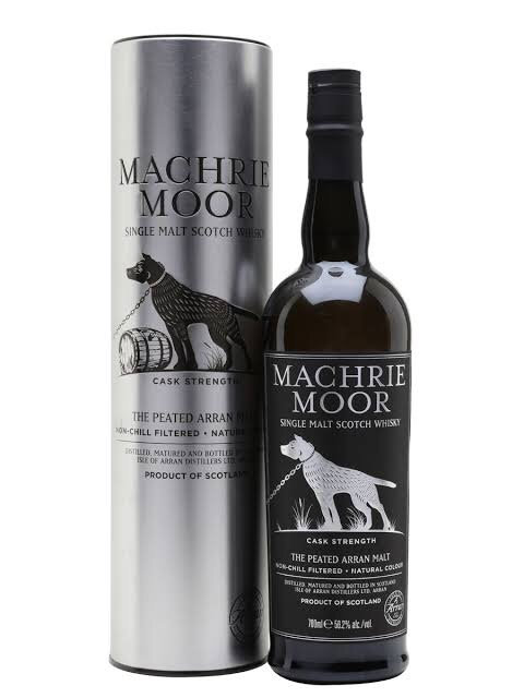 Arran Machrie Moor Peated Cask Strength +Gb 700ml 56,2%