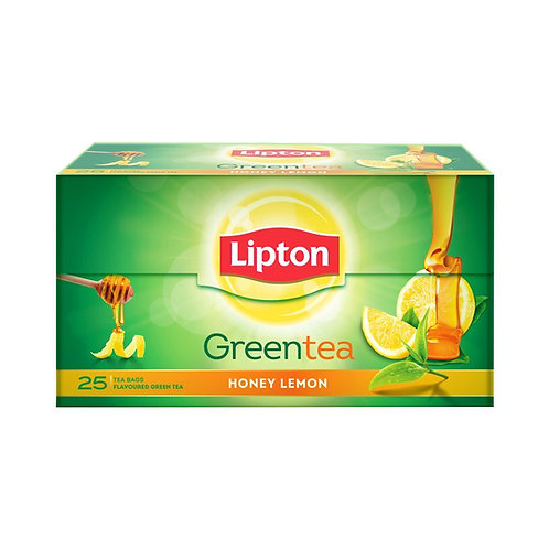 Chá Lipton Greetea Descsfeinado Honey Lemon