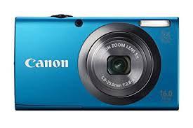 Câmera Digital Canon A2300 Blue