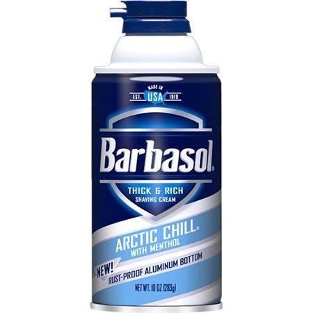 BARBASOL  SHAVE  ARTIC CHILL