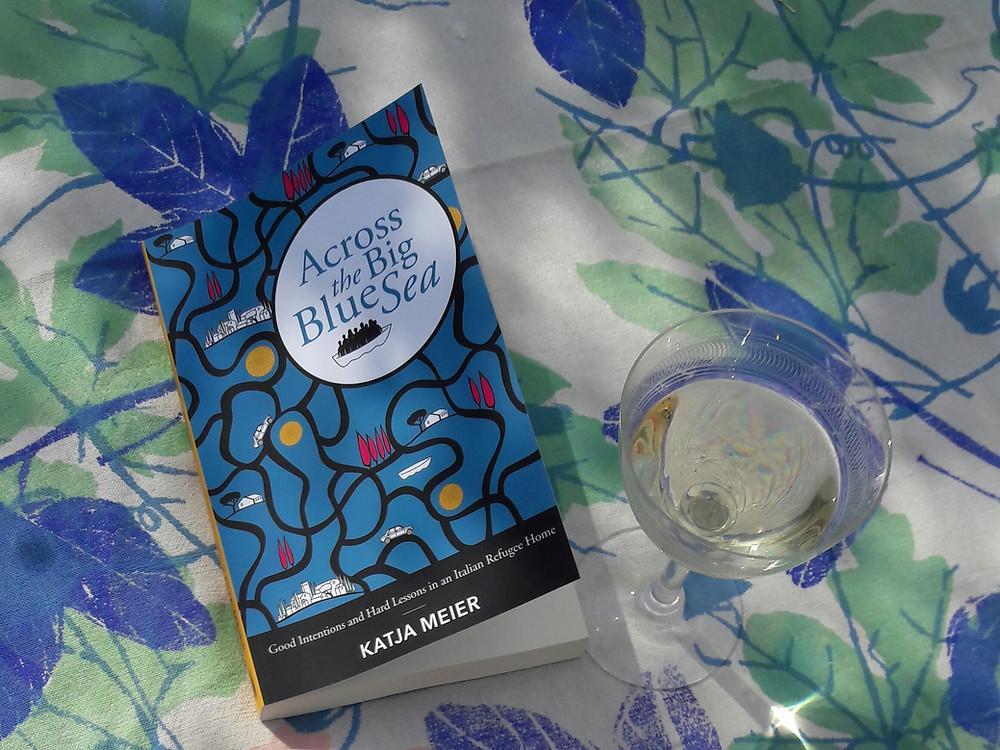 Across the Big Blue Sea (book cover)