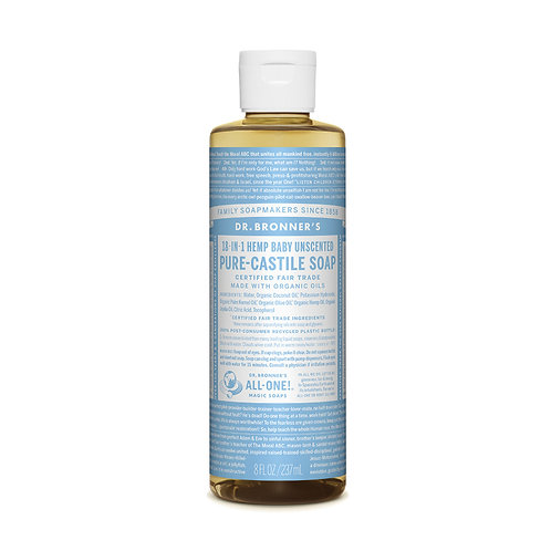 Dr. Bronner's Pure-Castile Soap Unscented 237ml