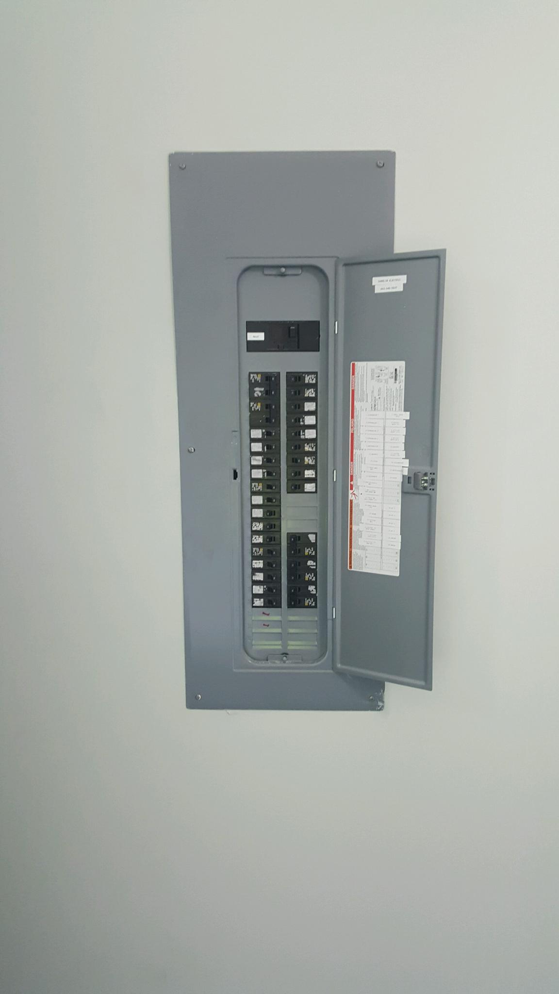 Panel Install