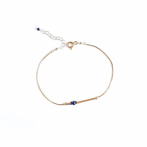 Bracelet Lise / bleu