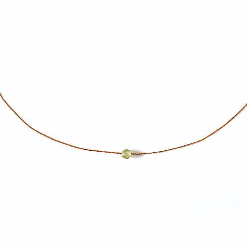 Collier Constance vert