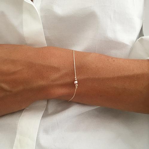 Bracelet deux perles.